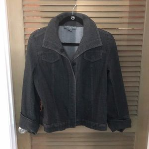 Josephine Chause gray jean jacket